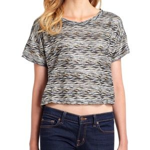 Free People | Textured Wave Crop Top | S